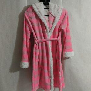 💥HP Kids💥 SPARKLE heart plush robe One Size